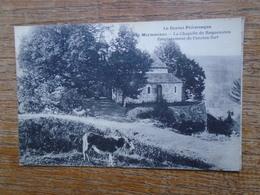 """Marmanhac , La Chapelle De Roquenateu , Eùmplacement De L'ancien Fort """""""" Carte Animée âne Devant La Chapelle """""""" - Frankrijk"""