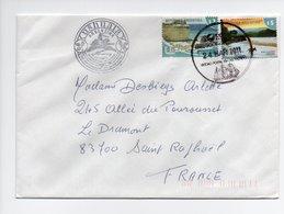 Argentine: Enveloppe Avec Timbres, Ushuaia 2011, Phare (18-2808) - Argentina