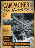 Campagnes Solidaires 39 Fevrier 1991 Proces Roquefort, Miel, Abeilles, Apiculture Haiti - Midi-Pyrénées