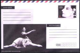 657  Dance - Ballet - Postal Stationary 2018 - Unused - 2,25 - Danse