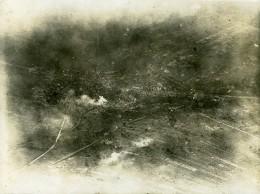 France WWI Vaux Bataille Ancienne Photo Aérienne 1 Juillet 1918 - Aviation