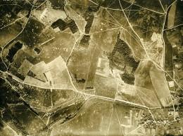 France WWI Bonnes Bataille De Chateau Thierry Ancienne Photo Aérienne 7 Juillet 1918 - Aviation