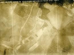 France WWI Bezu St Germain Bataille De Chateau Thierry Ancienne Photo Aérienne 15 Juillet 1918 - Aviation