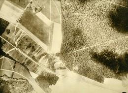 France WWI Monthiers Bataille De Chateau Thierry Ancienne Photo Aérienne 1918 - Aviation