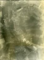 France WWI Givry Bataille De Chateau Thierry Ancienne Photo Aérienne 18 Juin 1918 - Aviation