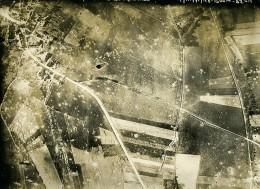 France WWI Bouresches Bataille De Chateau Thierry Ancienne Photo Aérienne 19 Juillet 1918 - Aviation