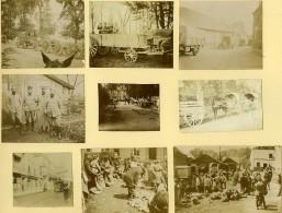 France Vie Quotidienne Du Soldat Pres Du Front Première Guerre Mondiale 9 Anciennes Photos 1917 - Aviation