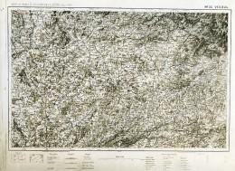 France Carte D'Etat-Major Région De Vesoul Première Guerre Mondiale Ancienne Photo 1918 - Aviation