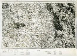 France Carte D'Etat-Major Région De Chalons Première Guerre Mondiale Ancienne Photo 1918 - Aviation