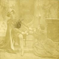 France Fantaisie Scene De Théatre Scene De Genre Ancienne Photo Stereo 1860 - Stereoscopic