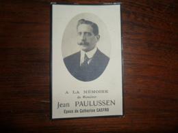 SOUVENIR PIEUX / Mr  JEAN PAULUSSEN / LIEGE 1930 - Avvisi Di Necrologio