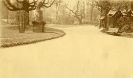 France Lille Jardin Vauban Ancienne Photo Capin 1933 - Places