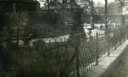France Lille Square Du Réduit Jardin Ancienne Photo Capin 1933 - Places