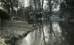 France Lille Grotte Du Jardin Vauban Ancienne Photo Capin 1933 - Places