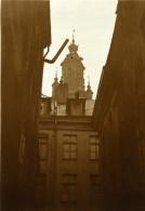 France Lille Bourse Vue De La Rue Du Petit Paon Ancienne Photo Capin 1933 - Places