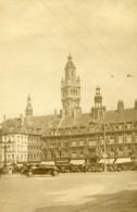 France Lille La Vieille Bourse Et Le Campanile De La Nouvelle Bourse Ancienne Photo Capin 1934 - Places