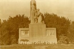 France Lille Monument à Louise De Bettignies Ancienne Photo Capin 1935 - Places