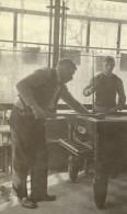 France Lille Estaminet Le Café André Le Billard Ancienne Photo Capin 1934 - Places