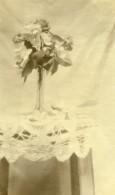 France Raismes Portrait étude Fleurs Nature Morte Ancienne Photo Capin 1933 - Places