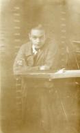 France Lille Portrait Autoportrait Ancienne Photo Prosper Emile Capin 1933 - Places