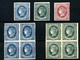 3754-Cuba Nº 14/16 - Cuba (1874-1898)
