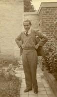 France Raismes Portrait Autoportrait Ancienne Photo Prosper Emile Capin 1933 - Places