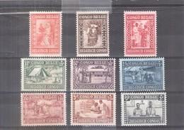 Congo Belge - 150/58 - Série Complète - X/MH - Cote:70.00 € - Congo Belge