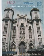 2003 El Salvador Churches Souvenir Sheet Complete MNH - El Salvador
