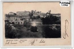 9260 CPA  POST CARD  ITALY ITALIA   PIEMONTE ANTIGNANO D ASTI PANORAMA 1903 - Asti