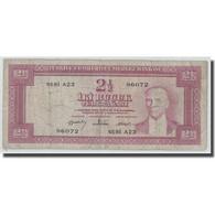 Billet, Turquie, 2 1/2 Lira, L.1930, 1960-02-15, KM:153a, B+ - Turquie