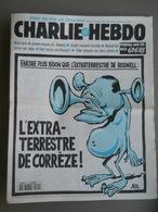 CHARLIE HEBDO 1995 N°175 - CHIRAC ROSWELL L'EXTRA-TERRESTRE DE CORREZE PAR RISS - Giornali