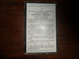 SOUVENIR PIEUX / Mme  CHARLOTTE BRICE / OCQUIER  1914 - Avvisi Di Necrologio