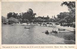 """0209 """" BUENOS AIRES - LAGO PALERMO - REP. ARGENTINA """"  - CART. ORIG.  SPED. - Argentina"""