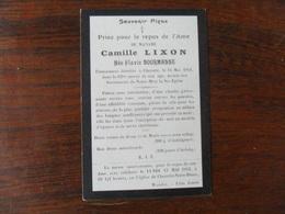 SOUVENIR PIEUX / Mme  C. LIXON  NEE  FLAVIE BOURMANNE CHERATTE 1911 - Avvisi Di Necrologio