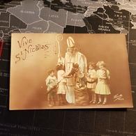 Vive St Nicolas (D) (1916) Cachet Militaire - Saint-Nicolas