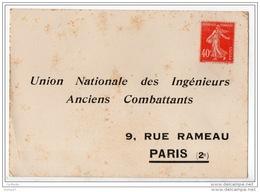 CARTE D'ABONNEMENT . UNION NATIONALE DES INGÉNIEURS ANCIENS COMBATTANTS . 2 SCANS - Réf. N°4814 - - Unclassified