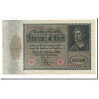 Billet, Allemagne, 10,000 Mark, 1922-01-19, KM:70, TTB+ - [ 3] 1918-1933 : République De Weimar