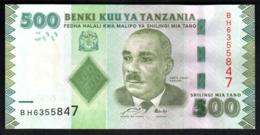 Tanzania 500 Shilling 2015 UNC FdS - Tanzanie