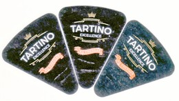 "Algérie - 3  étiquettes De  Fromage Fondu  ""Tartino Exellence"". - Fromage"