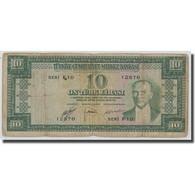 Billet, Turquie, 10 Lira, L.1930, 1930-06-11, KM:156a, B+ - Turquie