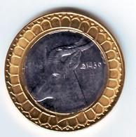 Algérie - Lion- Pièce Bimétallique UNC (issue De Rouleaux) 50.00 DA (Gazelle) 2018-1439. - Algeria