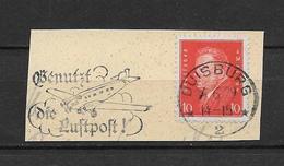 LOTE 1748  ///  ALEMANIA IMPERIO 1928/1932   YVERT Nº:  404 CON MATASELLO COMPLETO - Alemania