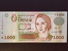 URUGUAY P91A 1000 PESOS 2004 UNC - Uruguay