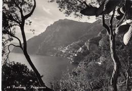 POSITANO-SALERNO- PANORAMA-CARTOLINA VERA FOTOGRAFIA-VIAGGIATA IL 16-8-1952 - Salerno