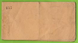 Carnet à Souche D'Adhésions Au COMITE REPUBLICAIN DEMOCRATIQUE Arrondissement De CHOLET 49 * Histoire Politique - Documenti Storici
