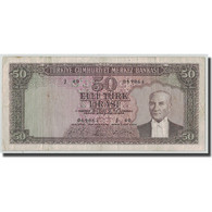 Billet, Turquie, 50 Lira, L.1930, 1951-12-01, KM:162a, TB - Turquie