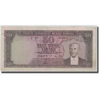 Billet, Turquie, 50 Lira, L.1930, 1951-12-01, KM:162a, TB+ - Turquie