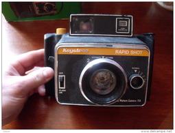 KEYSTONE RAPID SHOT 750 (Berkey) Avec Facture D'origine,très Rare - Cameras