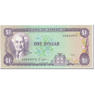 Billet, Jamaica, 1 Dollar, 1989, 1989-07-01, KM:68Ac, NEUF - Jamaique