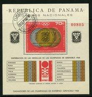 Panama 1968 70c Olympics Issue #487i - Panama